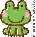 개구리, 동물, 소재 22899406