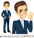 Businessman Okay Sign 22899520