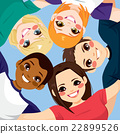 Friends Together Circle 22899526