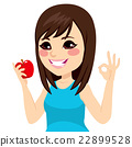 Girl Apple Okay 22899528