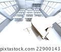 책상, 교실, 화이트 22900143