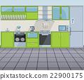 vector, kitchen, oven 22900175