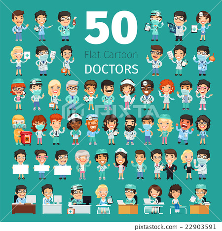 Cartoon Doctors Big Collection 22903591