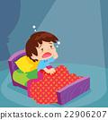 Cute boy have Sleepless 22906207