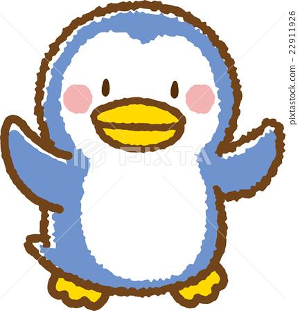企鵝 動物 原料 22911926