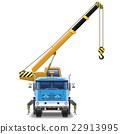 Vector Truck Crane 22913995