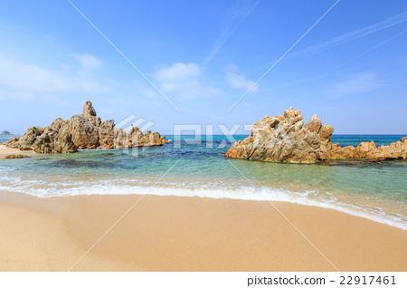 水晶沙滩海滩 - 福井县三方郡美滨町 -  22917461