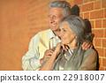 老年的 夫妇 一对 22918007