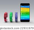 智能手機 矽 智慧手機 22931979