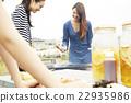 女性 烤肉 燒烤 22935986