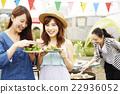 女性 咧嘴笑 開懷笑 22936052