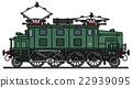 Vintage electric locomotive 22939095