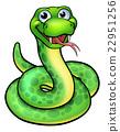 Snake Cartoon Character 22951256
