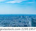 藍天的東京風景 22951957