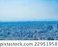 藍天的東京風景 22951958