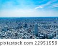 藍天的東京風景 22951959