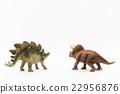 stegosaurus, triceratops, dinosaur 22956876