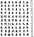 tango players, vector 22957374