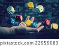 주사위, 장난감, 비즈니스 22959083