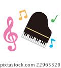 钢琴 音乐 矢量 22965329