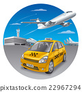 airport, travel, vector 22967294
