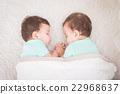 baby twins sleeping 22968637