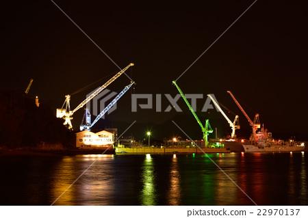 Onomichi crane light up 22970137