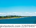 Headland on the Baltic Sea coast in Gedser 22970497
