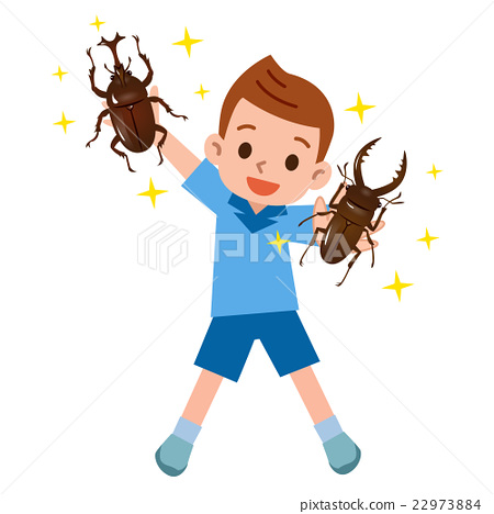 牙買加犀金龜 鍬形蟲 男生 22973884
