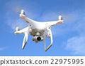 Drone in flight 22975995