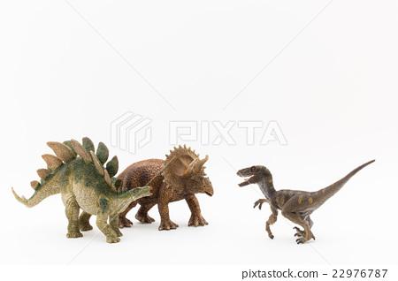 剑龙 三角龙 恐龙 22976787
