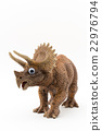 Eyeball seal · Triceratops: Wiggly-eyed triceratops 22976794
