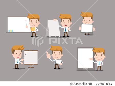 Businessman series - blank set 22981043