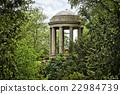 Woerlitzer Park, Venus Temple behind trees 22984739
