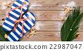 Blue Flip Flops. 22987047
