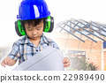 Dream of the child's future career  (engineer) 22989490