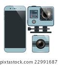 Smartphone camera set 22991687