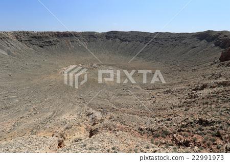 메테 오르 분화구 Meteor Crater 22991973