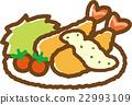 炸蝦 西餐 食物 22993109