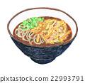 soba, buckwheat, noodles 22993791