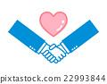 handshake, shaking, hand 22993844