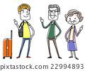 คนต่างชาติ,ชาวต่างชาติ,การเดินทาง 22994893