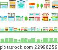 shopping strip, shop, store 22998259