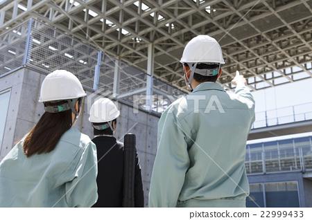 비즈니스 미팅 협의 건설 건축 사업 22999433