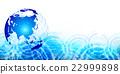 earth globe blue 22999898