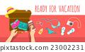 假期 包裝 手提箱 23002231