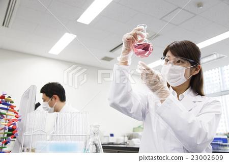 연구 과학 과학 실험 과학자 화학자 23002609