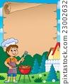 Barbeque theme parchment 1 23002632