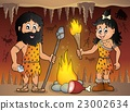 Cave people theme image 1 23002634