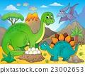 Image with dinosaur thematics 5 23002653
